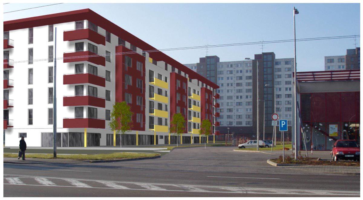 bytový dom – podunajské byskupice