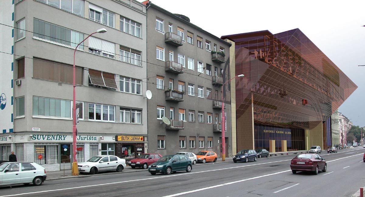 rekonštrukcia a modernizácia areálu sng