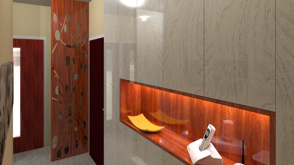 interiér panelového bytu bj